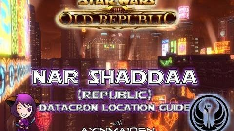 ★ SWTOR ★ - Datacron Location Guide - Nar Shaddaa (Republic)