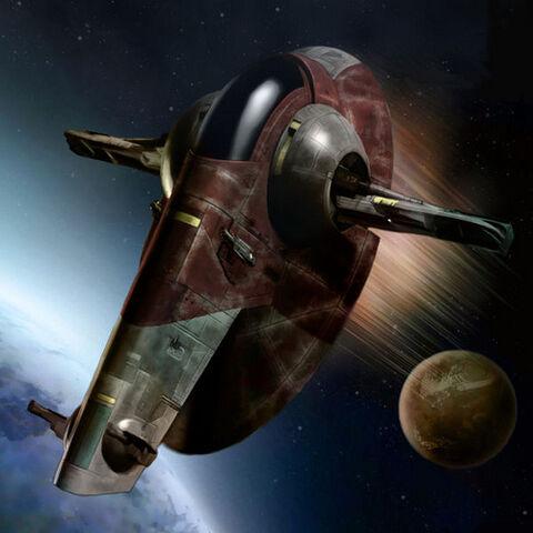 File:Bounty Hunter Space Ship - Slave I FireSpray Interceptor.jpg