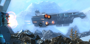 Imperial Transport attack