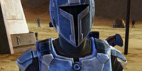 Unidentified Mandalorian(Sand Person)