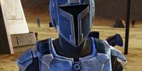 Unidentified Mandalorian(Sand Person)