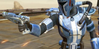 Unidentified Mandalorian Leader