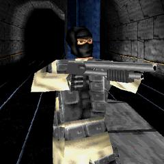 Terrorist with Shotgun aiding Aramov