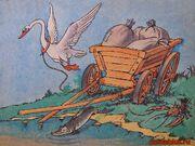 Лебедь-щука-и-рак-басня-картинка