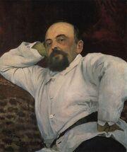 Mamontov by Repin