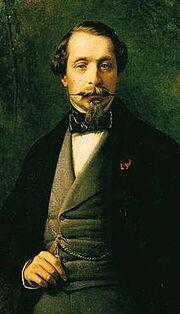 Napoleon III, målning av Franz Xaver Winterhalter från 1857