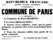 Commune proclamation