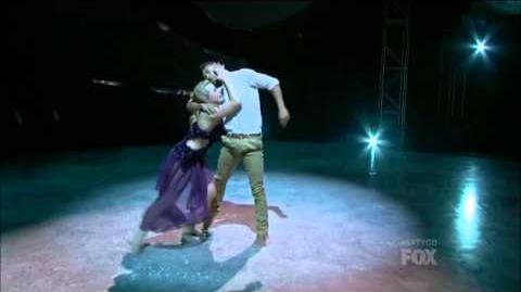 SYTYCD Season 10 - Top 18 Perform - Mariah and Carlos