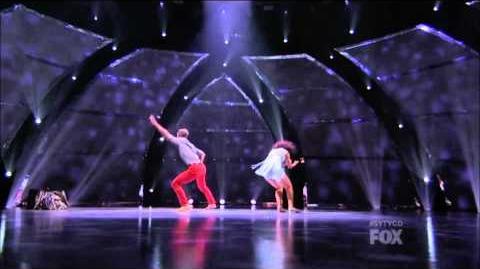 SYTYCD Season 10 - Top 18 Perform - Alexis and Nico