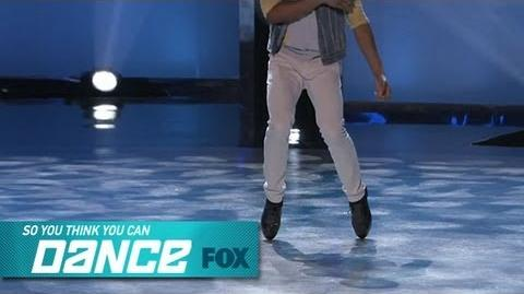 Curtis Solo Top 16 Perform SO YOU THINK YOU CAN DANCE FOX BROADCASTING