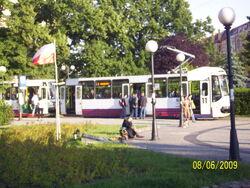11 na przystanku plac Grunwaldzki