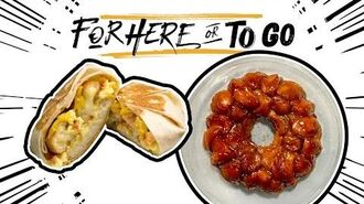 """Cinnabon Delights Hacks - Taco Bell's """"For Here or To Go"""" Taco Bell"""