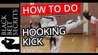 Tae Kwon Do Hooking Kick (Goro Chagi) How to perform hooking kick for martial artists