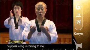 Grand Master Kyu Hyung Lee - WTF Poomsae Koryo