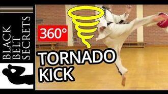 Tornado Kick Hurricane Kick 360 Kick