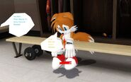 Tails Got His Nose Bleed