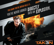 Taken 3 meme poster- escaping from car explosions