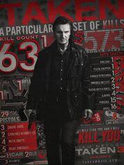 AMC Theaters Taken 3 promo poster