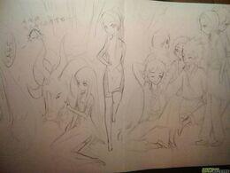 Group fan art