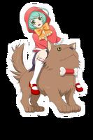 (Girl & Dog) Mil & Marishiba