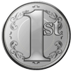 Silver Token of 1st Anniversary