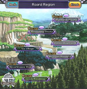 Roard Region