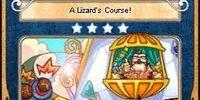 A Lizard's Course!
