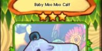 Baby Moo Moo Calf (card)