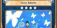 Snowy Butterfly