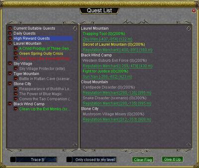 Quest List 4