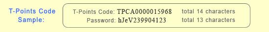 TPoints code