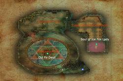 Ease Cloud Cave map