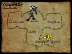 Darkness Valley map