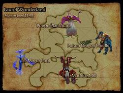 Laurel Wonderland map