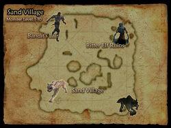 Sand Village map