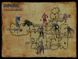 Dais Field map
