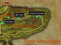 The Hunter on Tiger Mountain map