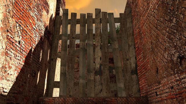 File:Wooden barrier.jpg