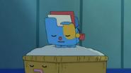 Bagubagu sleeping
