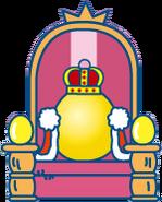 Gotchi king throne