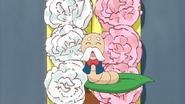 Principal mimizu on grippatchi's head