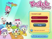 Tamagotchi Friends - Dream Town (Login Screen)