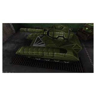 Railgun mounted on top of <a href=