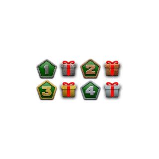 The Daily Mission chains' icons
