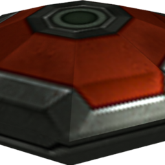 A red mine