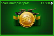 Score Multiplyer Pass