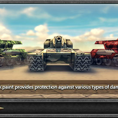 One of Tanki Online's loading screens, featuring Thunders