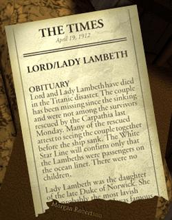 Lambeth Obituary