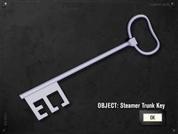 Steamer Trunk Key