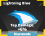 Lightning Blue slash effect